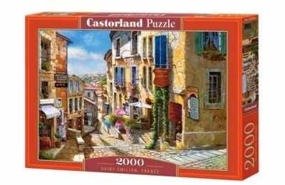 Puzzle Castorland 2000 - Saint Emilion, France