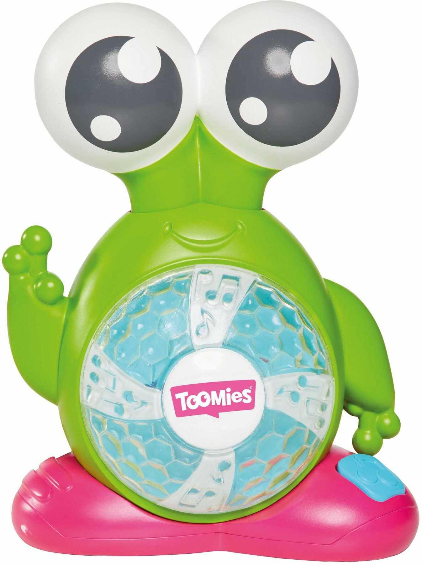 TOMY Toomies Licht & Sound-Alien zabawka dla niemowląt z funkcją muzyki i światła  wysokiej jakości zabawka dla małych dzieci  dla niemowląt i małych dzieci od 18 miesięcy  idealna jako prezent