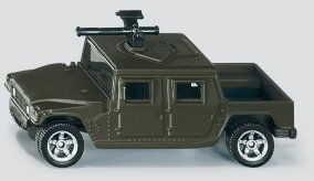 Siku - Wojskowy wóz transportowy żółty 0869