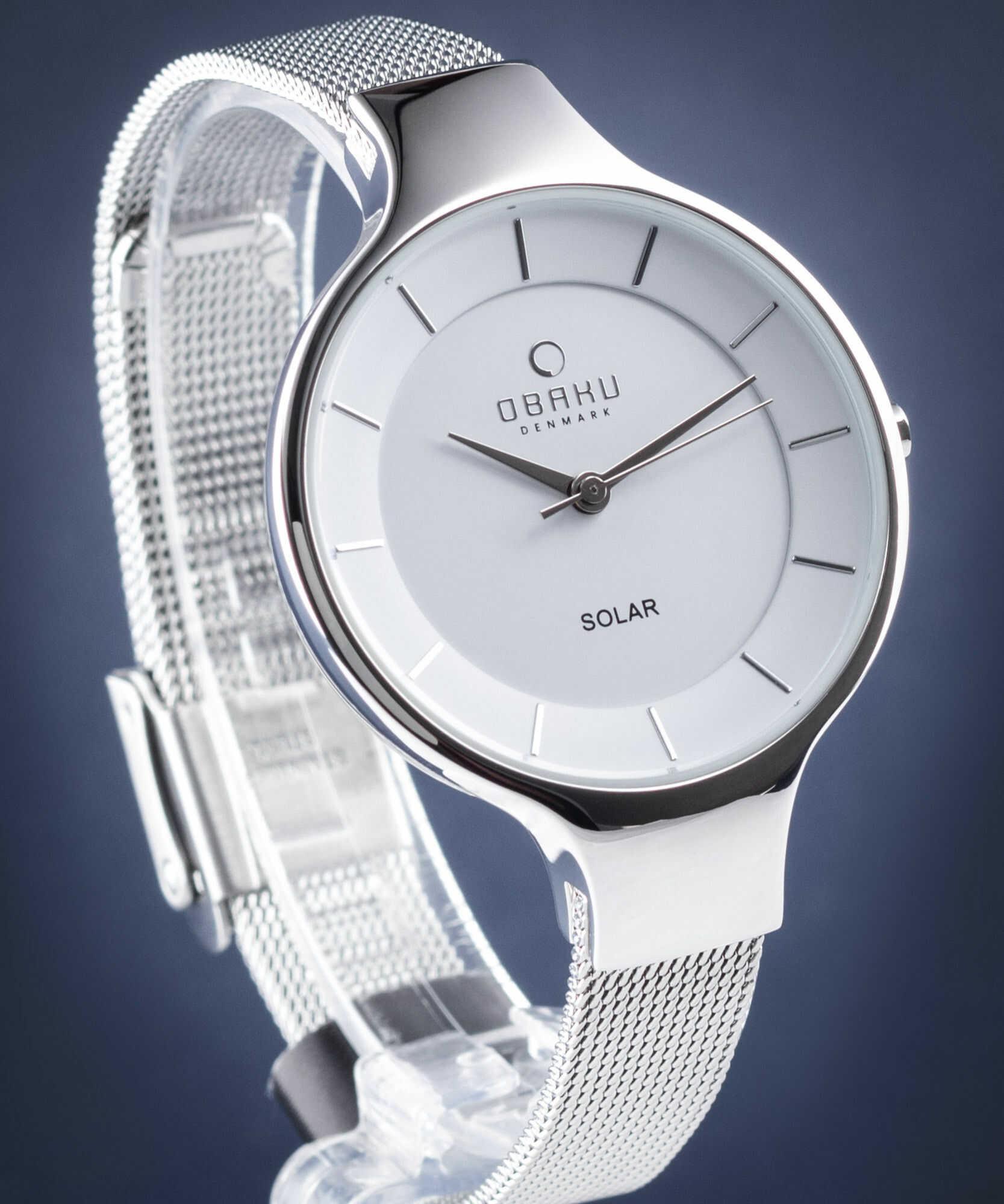 Zegarek Obaku Denmark V221LRCWMC GRY - STEEL - CENA DO NEGOCJACJI - DOSTAWA DHL GRATIS, KUPUJ BEZ RYZYKA - 100 dni na zwrot, możliwość wygrawerowania dowolnego tekstu.