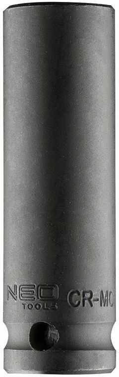 Nasadka udarowa 1/2cala długa, 15mm L78mm CR-MO 12-315