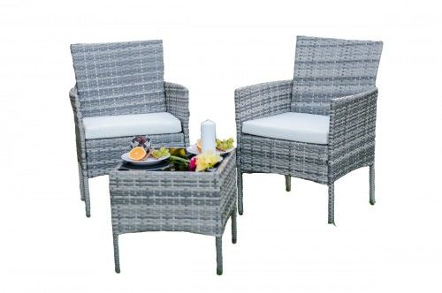 Zestaw fotele i stolik ogrodowy
