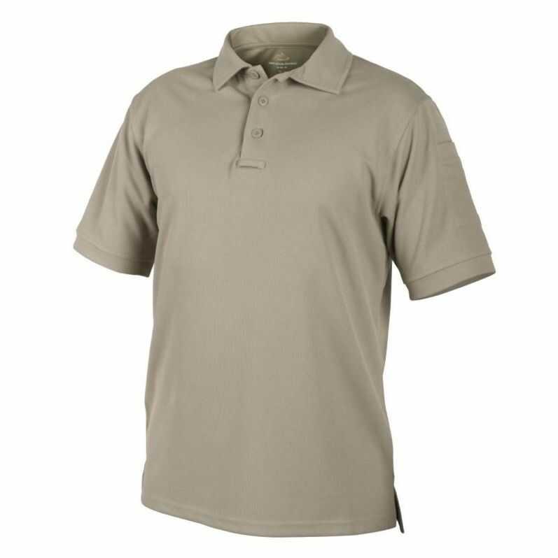Koszulka termoaktywna Polo Helikon UTL TopCool Khaki (PD-UTL-TC-13) H