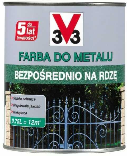 Farba do metalu V33
