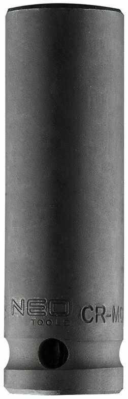 Nasadka udarowa 1/2cala długa, 16mm L78mm CR-MO 12-316