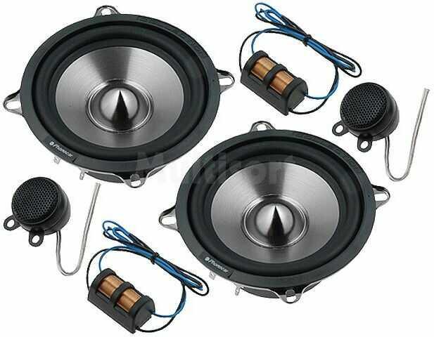 Zestaw głośników samochodowych dwudrożny 130mm 70W