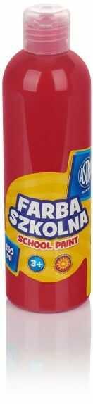 Farba plakatowa Astra 500 ml 3071-FARB 240074, Kolor: Czerwony