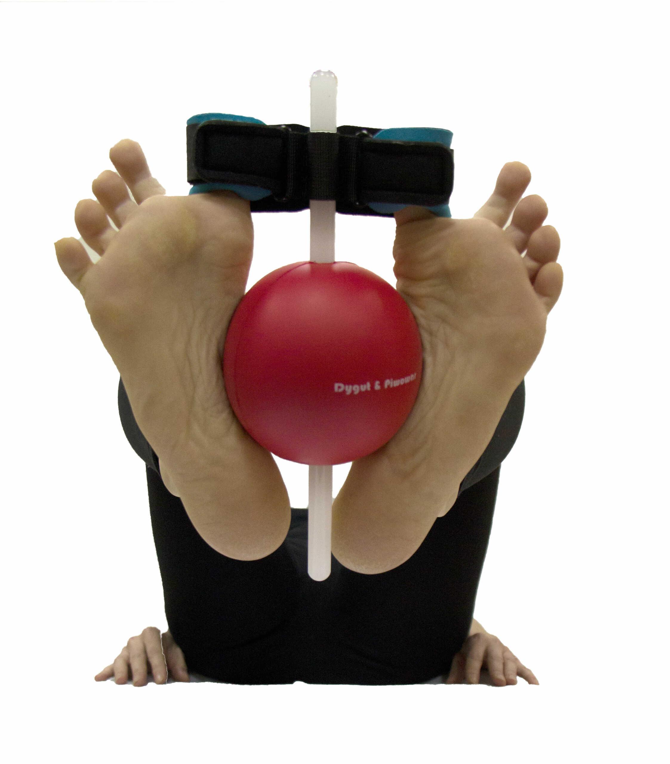 Opatentowany aparat bierno-dynamiczny do ćwiczeń stopy - bóle, płaskostopie, halluks (HalluxSTOP Dragonfly)