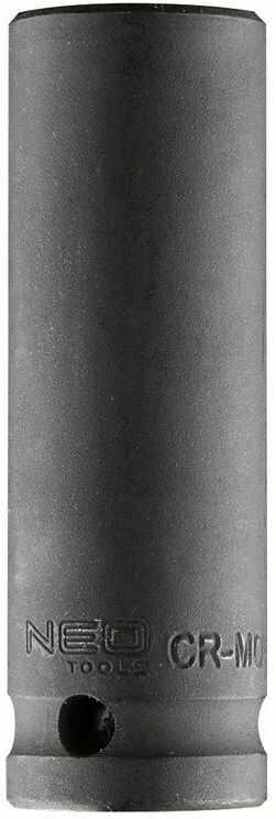 Nasadka udarowa 1/2cala długa, 17mm L78mm CR-MO 12-317