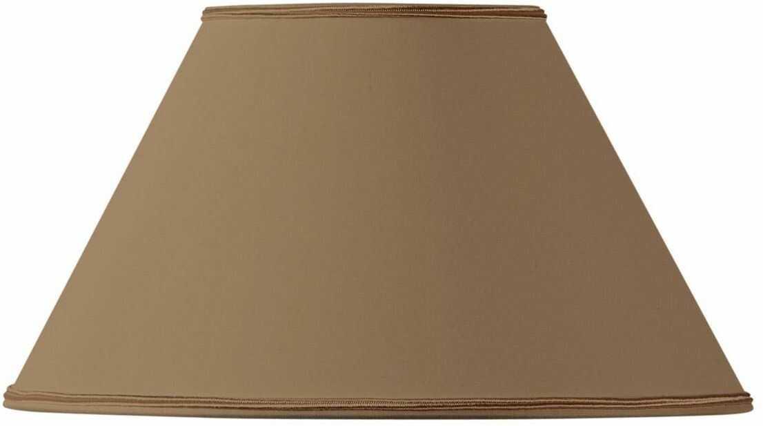 Klosz lampy w kształcie wiktoriańskim, średnica 35 x 15 x 21 cm, taupe