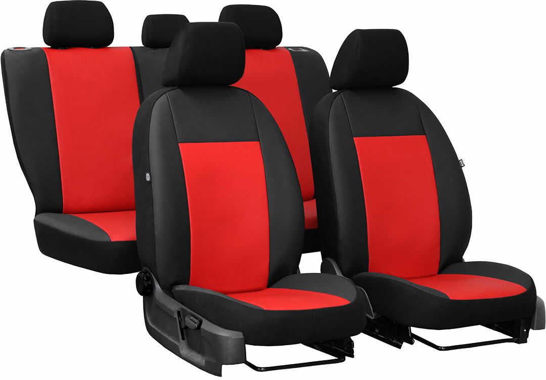 Pokrowce samochodowe do Ford Mustang coupe, Pelle, kolor czerwony