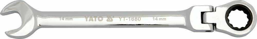 Klucz płasko-oczkowy z grzechotką i przegubem 24 mm Yato YT-1690 - zyskaj rabat 30 zł