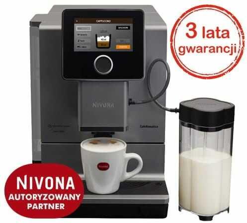 Ekspres do kawy NIVONA CafeRomatica 970 - Tytan