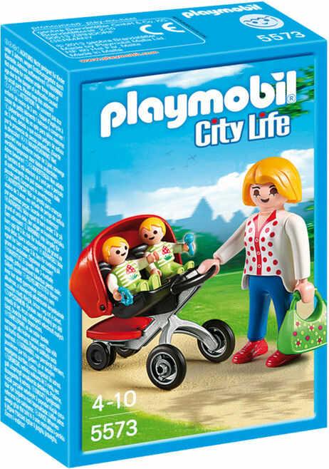 Playmobil - Wózek dla bliźniaków 5573