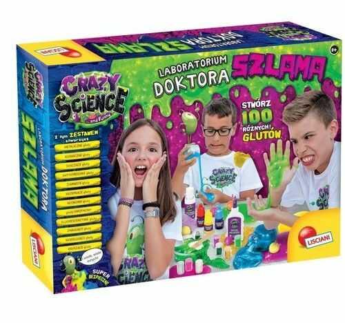 Zestaw naukowy Crazy Science Laboratorium Doktora Szlama