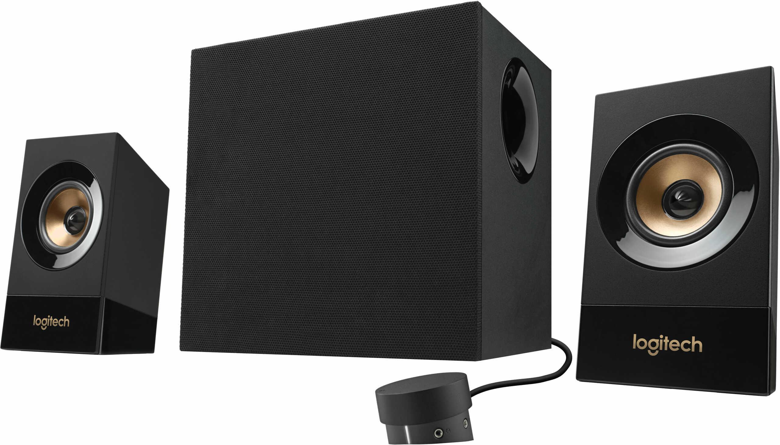 Logitech 980-001054 Z533 2.1 channels 60 W Universal black 120 W 55