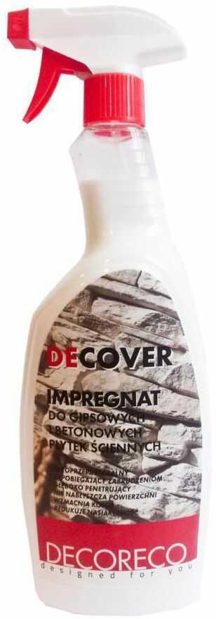 Impregnat do płytek gipsowych i betonowych DECOVER 1 l INCANA