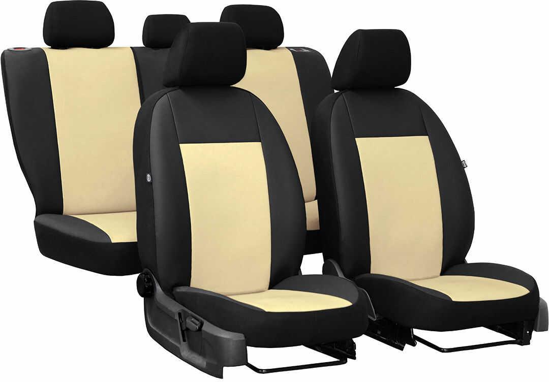 Pokrowce samochodowe do Ford Mustang coupe, Pelle, kolor beżowy