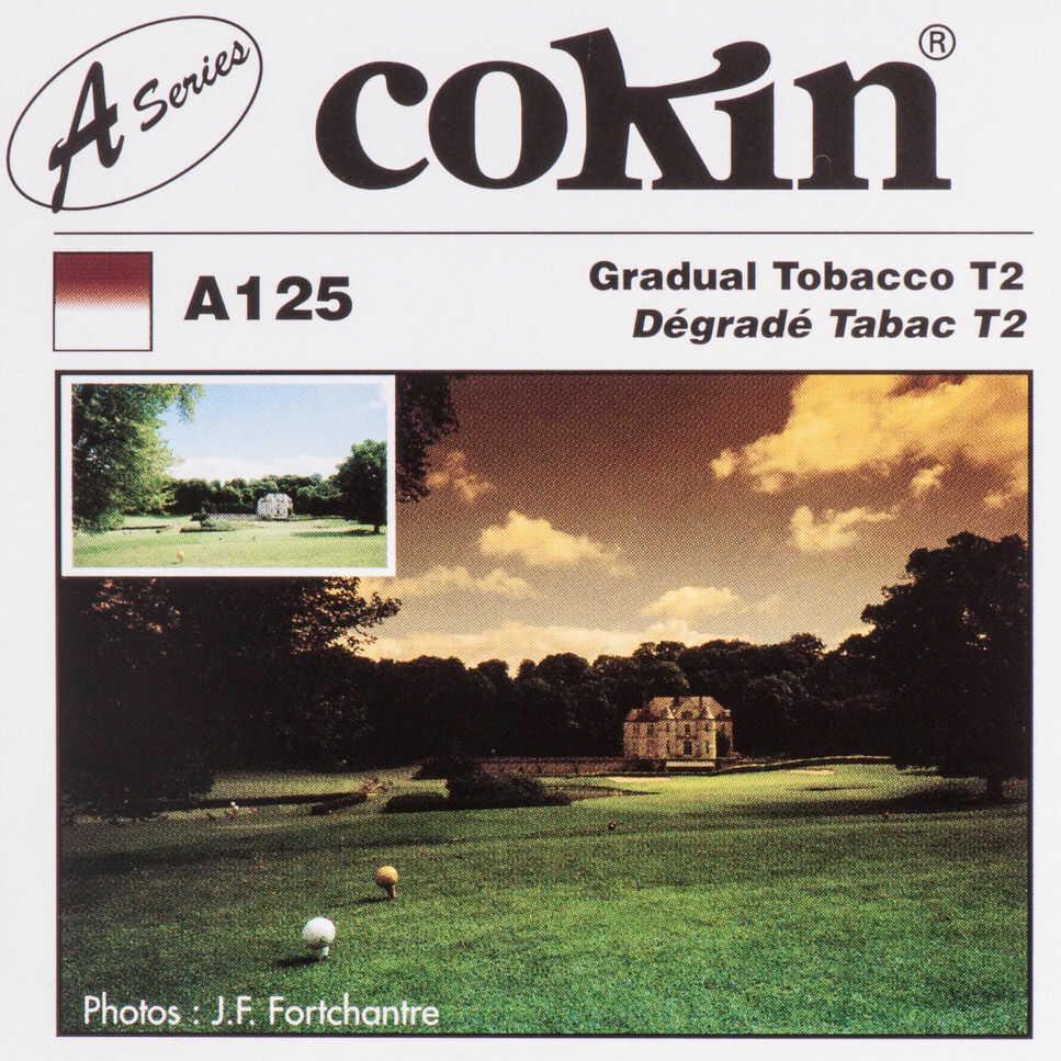 Filtr Cokin A125 rozmiar S połówkowy tobacco