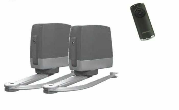ZESTAW: napęd VersaMatic P 2 BiSecur (skrzydło do 3000 mm, do 300 kg) + pilot HS 5 BS (z funkcją sprawdzania statusu bramy)