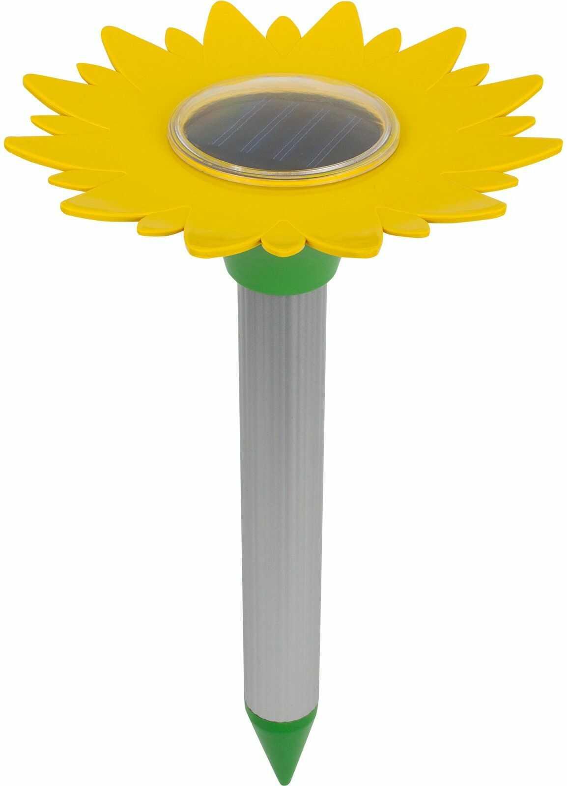 Odstraszacz kretów, solarny - kwiat