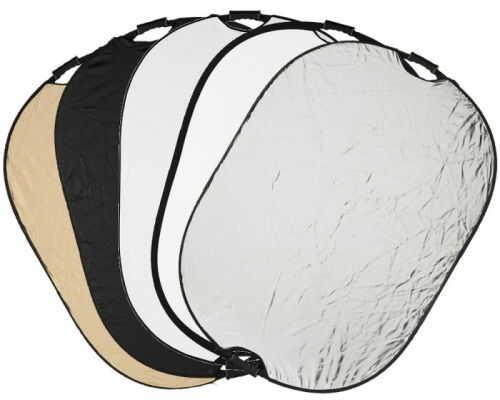 Quadralite 5w1 - blenda owalna z uchwytem, 90x120cm Quadralite 5w1 90x120cm, uchwyt