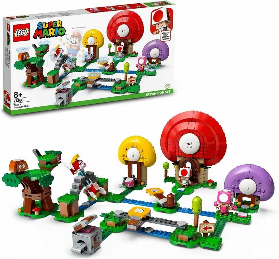 LEGO  71368 Super Mario Toad Szuka Skarbu - zestaw rozszerzający. Oryginalna gwarancja LEGO.