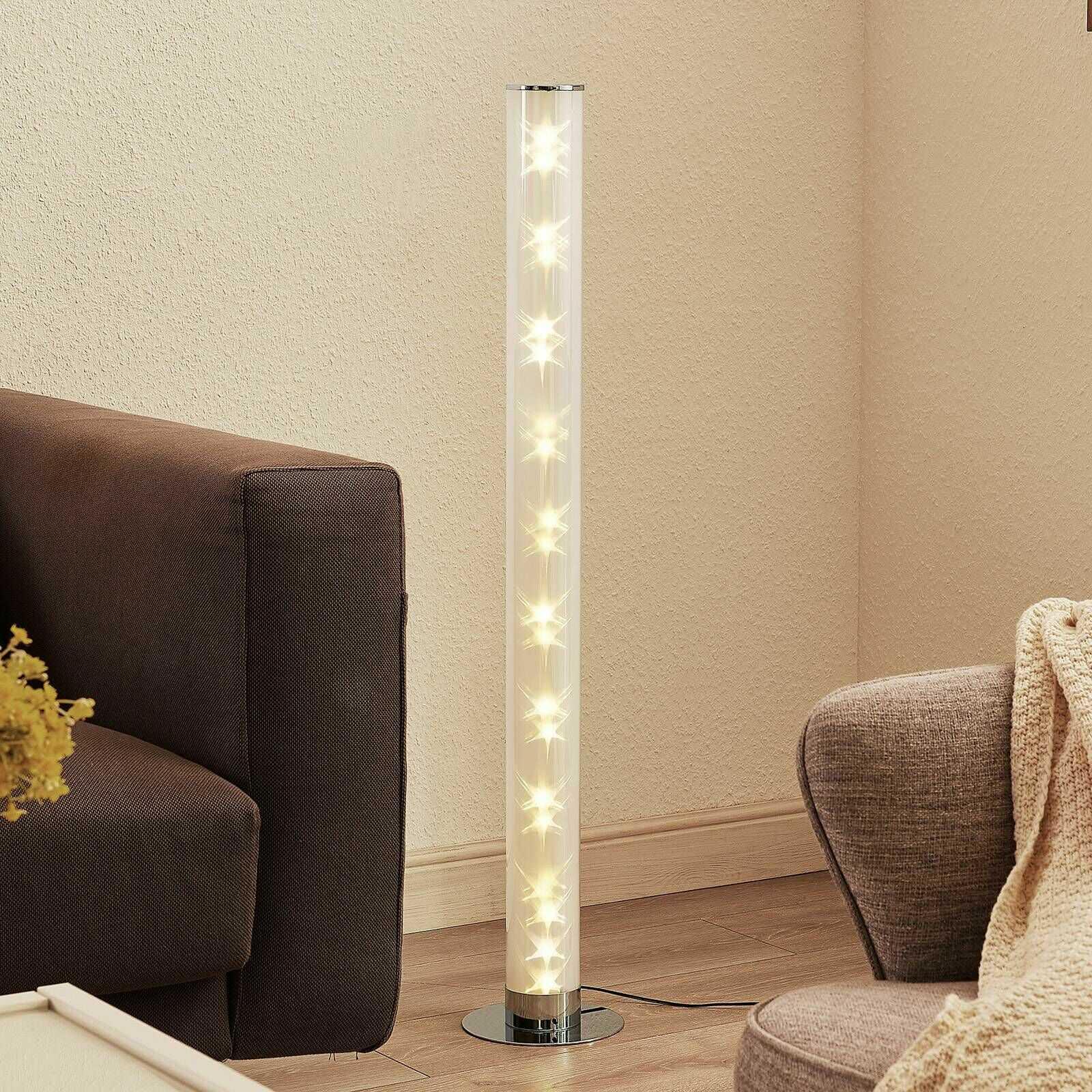 Lindby Savash lampa stojąca LED