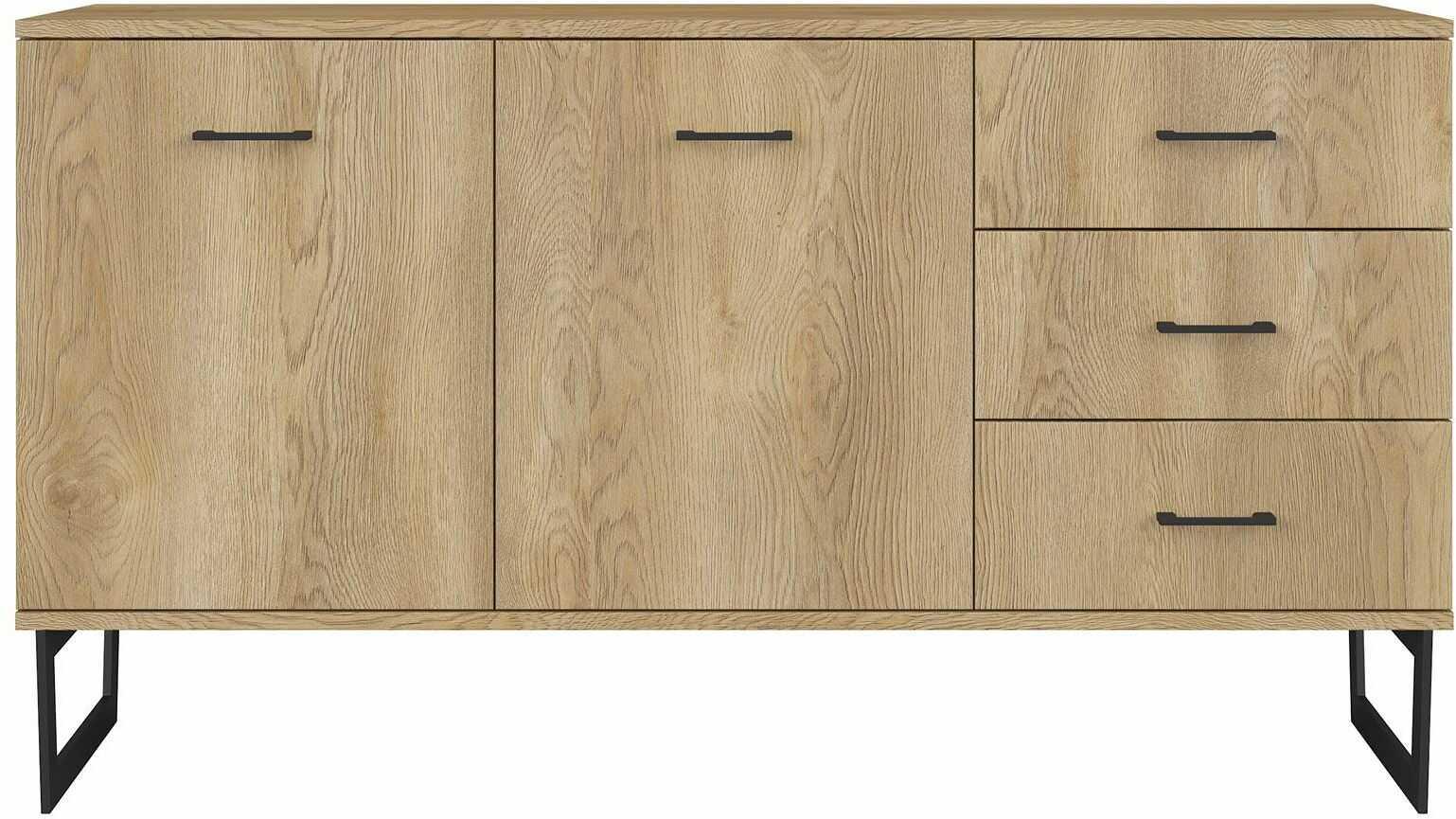 Drewniana komoda z szufladami - Bahama 4X