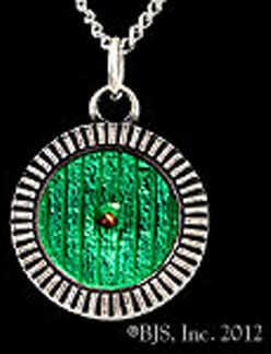 Hobbit Srebrny Wisiorek Sterling Silver Bag End Door Necklace