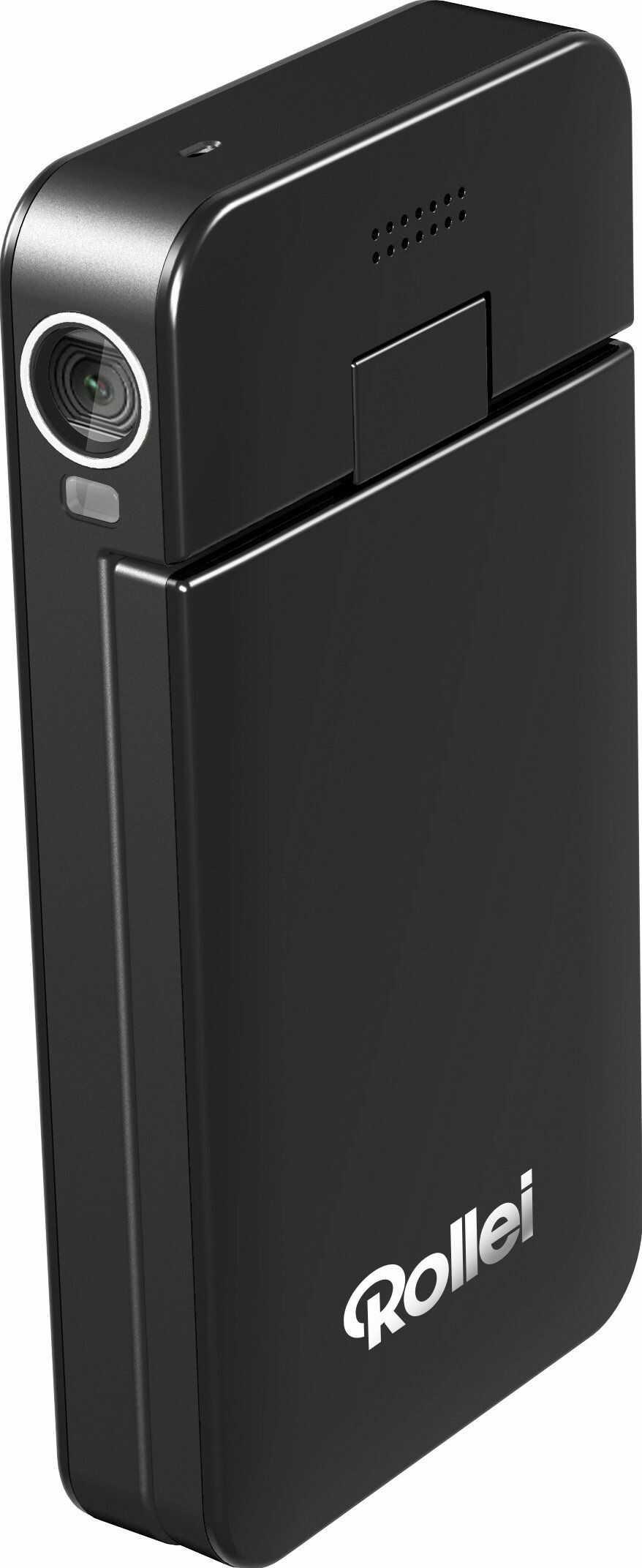 """Rollei Movieline Live 100 Full-HD kamera 1080p z technologią WiFi (7,6 cm (3""""), wyświetlacz TFT, 5 megapikseli, kolor czarny"""