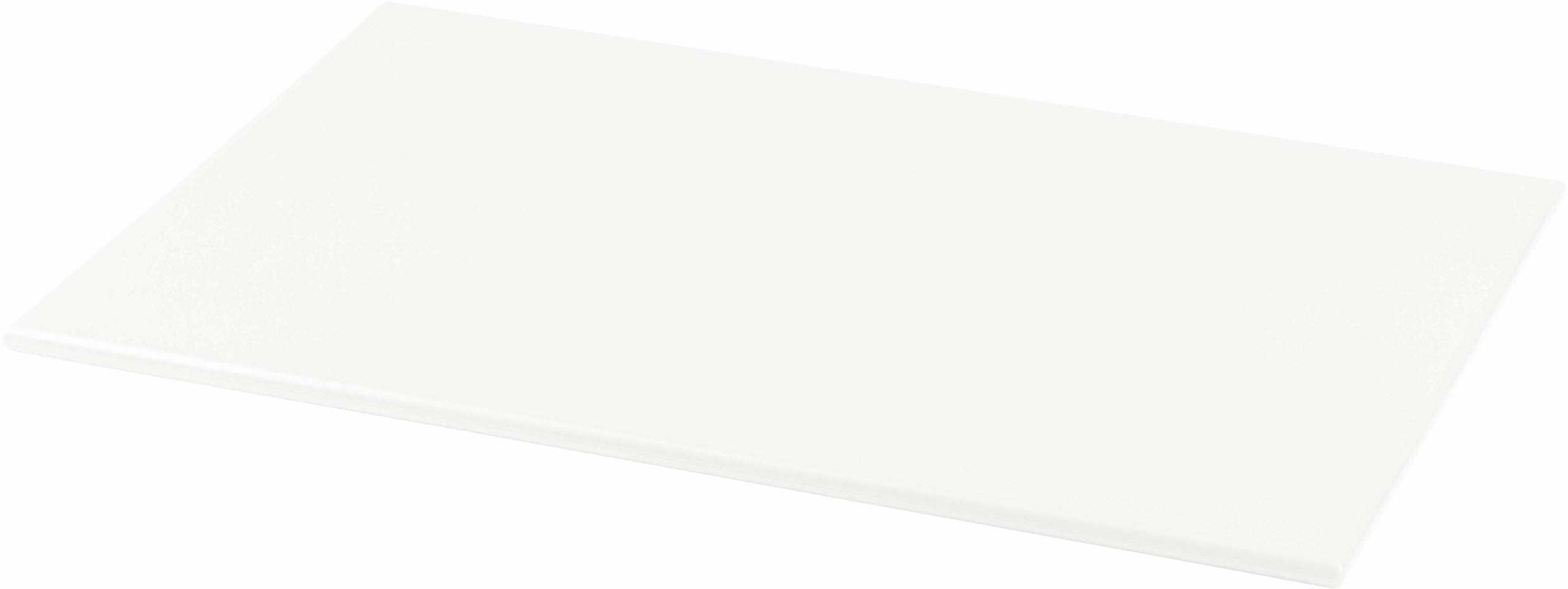 Grunwerg plastikowa deska do krojenia o wysokiej gęstości, biała, 45 x 30 x 1 cm
