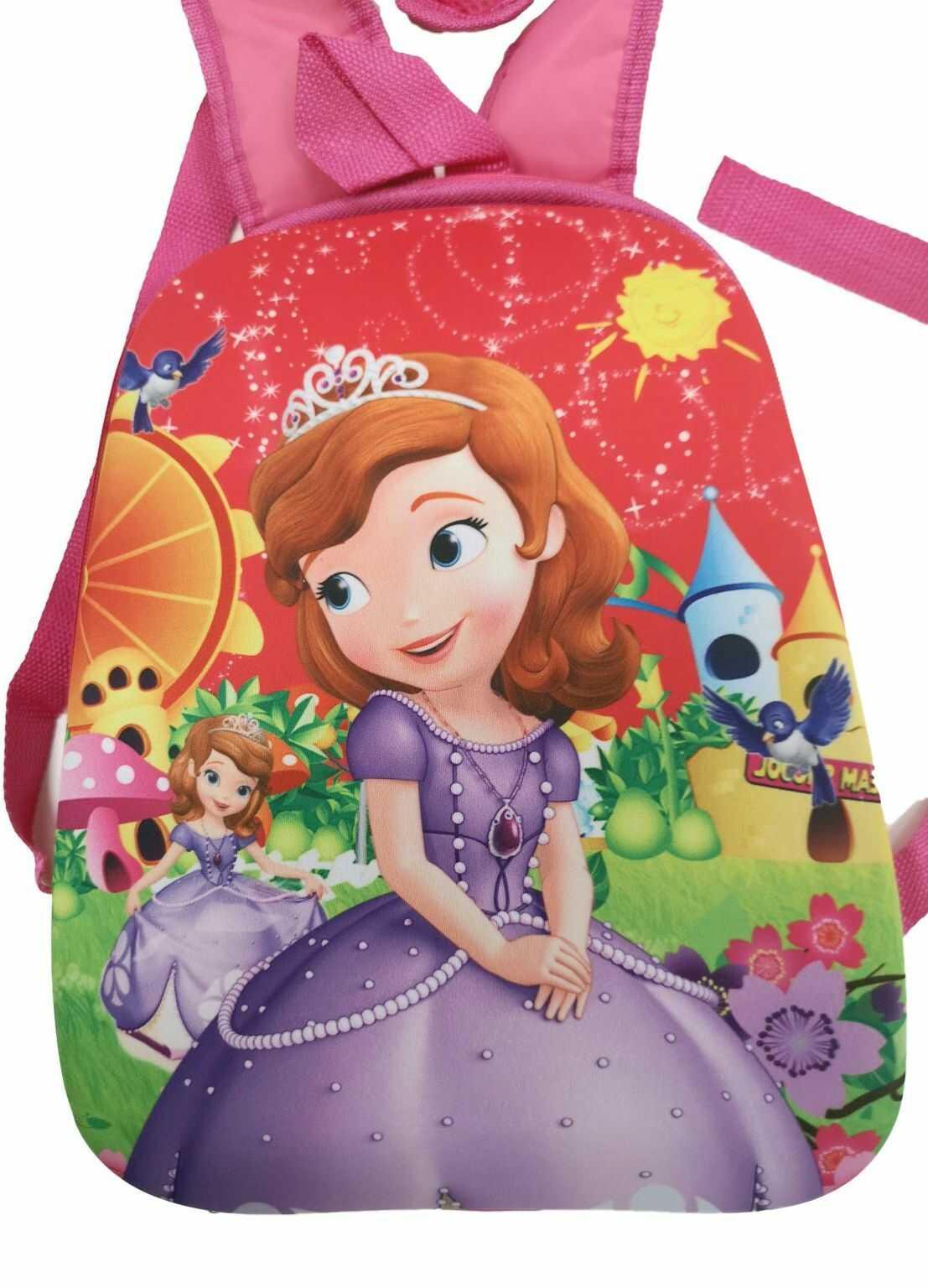 1 Kiddy Plecak dziewczęcy PRINCESS usztywniany