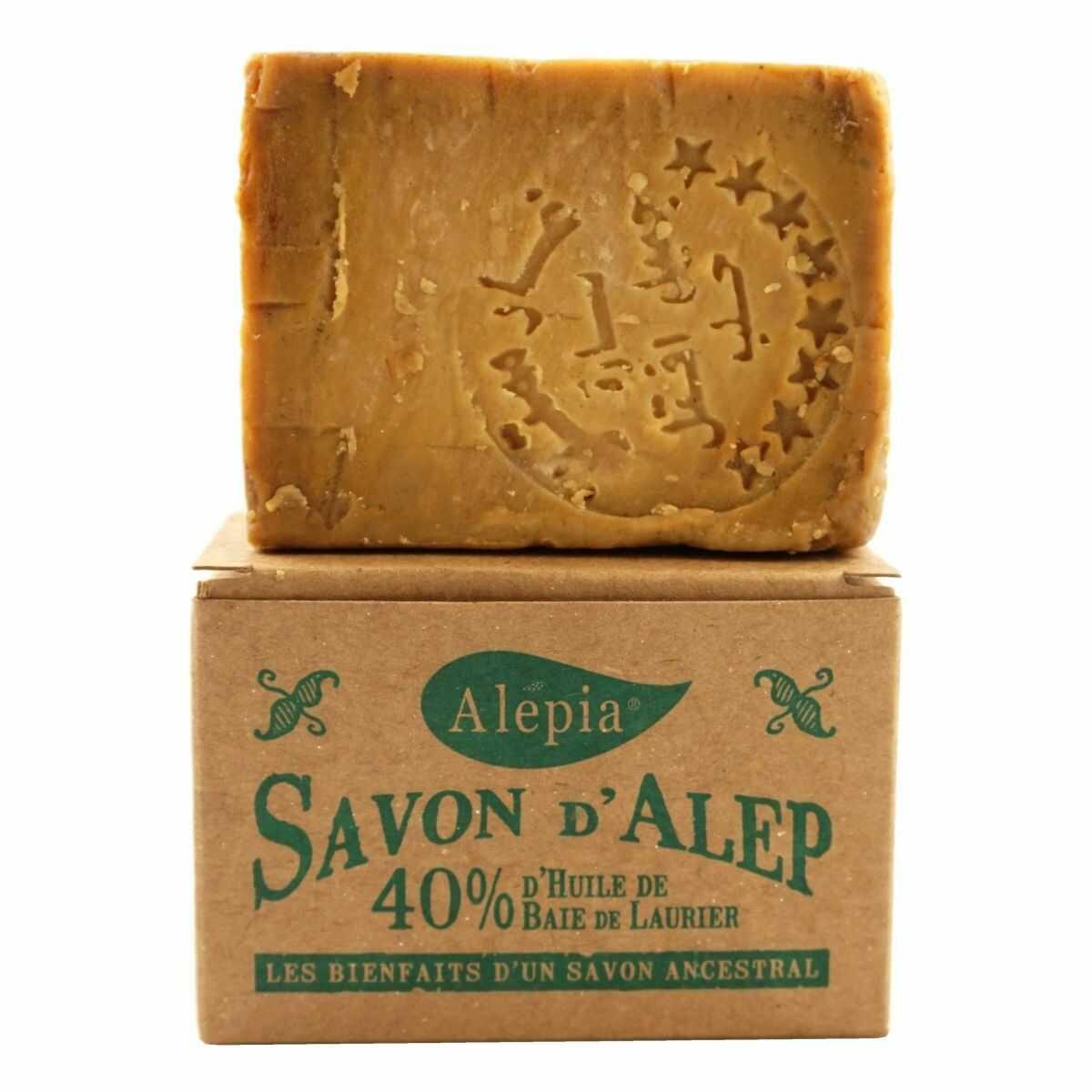 Mydło Alep z Aleppo 40% Laurie - 190g - Alepia