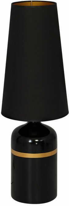 Milagro VIRGO MLP3777 lampa podłogowa cermiczna czarna 1xE27 77cm