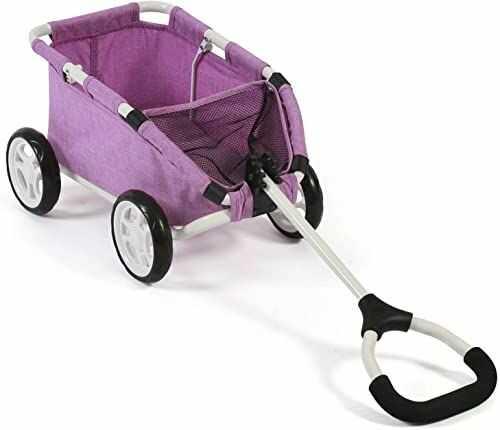 Bayer Chic 2000 660 35 Skipper, mały wózek dla misiów i lalek, kolor fioletowy