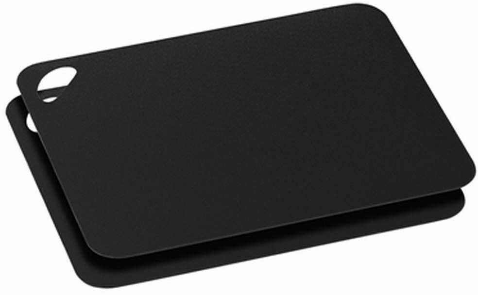 Zassenhaus - 2 elastyczne deski do krojenia, 29,00 cm, czarne