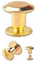 Nit skręcany Nity skręcane Śrubka 5mm Złoty