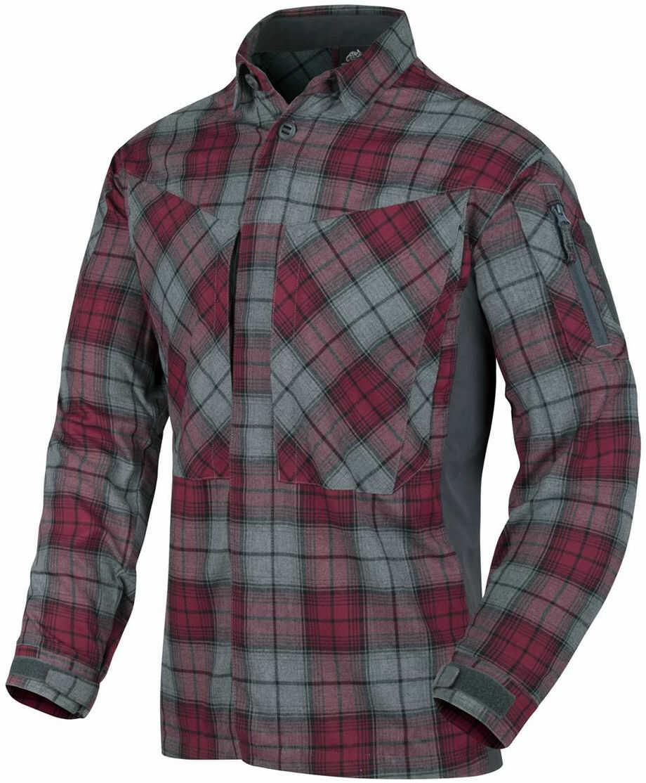 Koszula Helikon MBDU Flannel Ruby Plaid D/R (KO-MBD-PO-P1) H