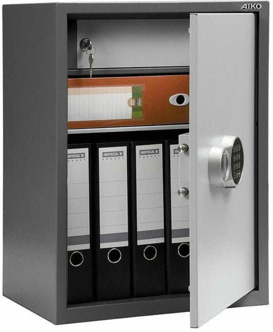 Sejf elektroniczny na segregatory SL 65T EL
