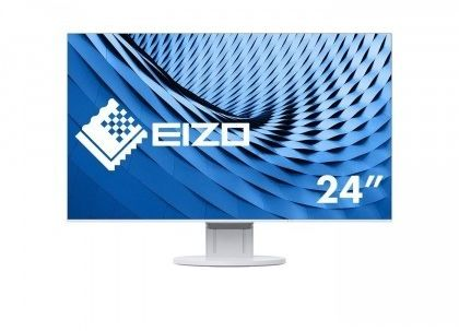 "EIZO Monitor LCD 23.8"" EV2451-WT, Wide (16:9), IPS, LED, FlexStand 4, biały. - Certyfikaty Rzetelna Firma i Adobe Gold Reseller"