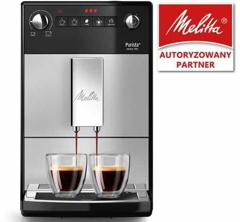 Ekspres do kawy Melitta Purista - Srebrny + Kod rabatowy