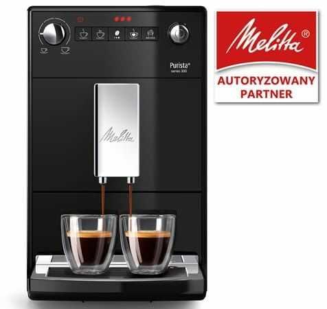 Ekspres do kawy Melitta Purista - Czarny + Kod rabatowy