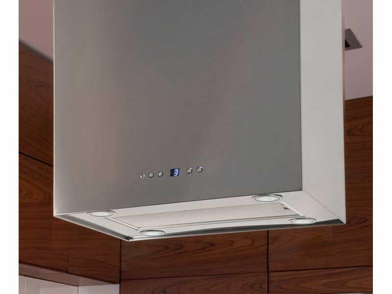 Okap wyspowy Quadro Max Inox 60 cm