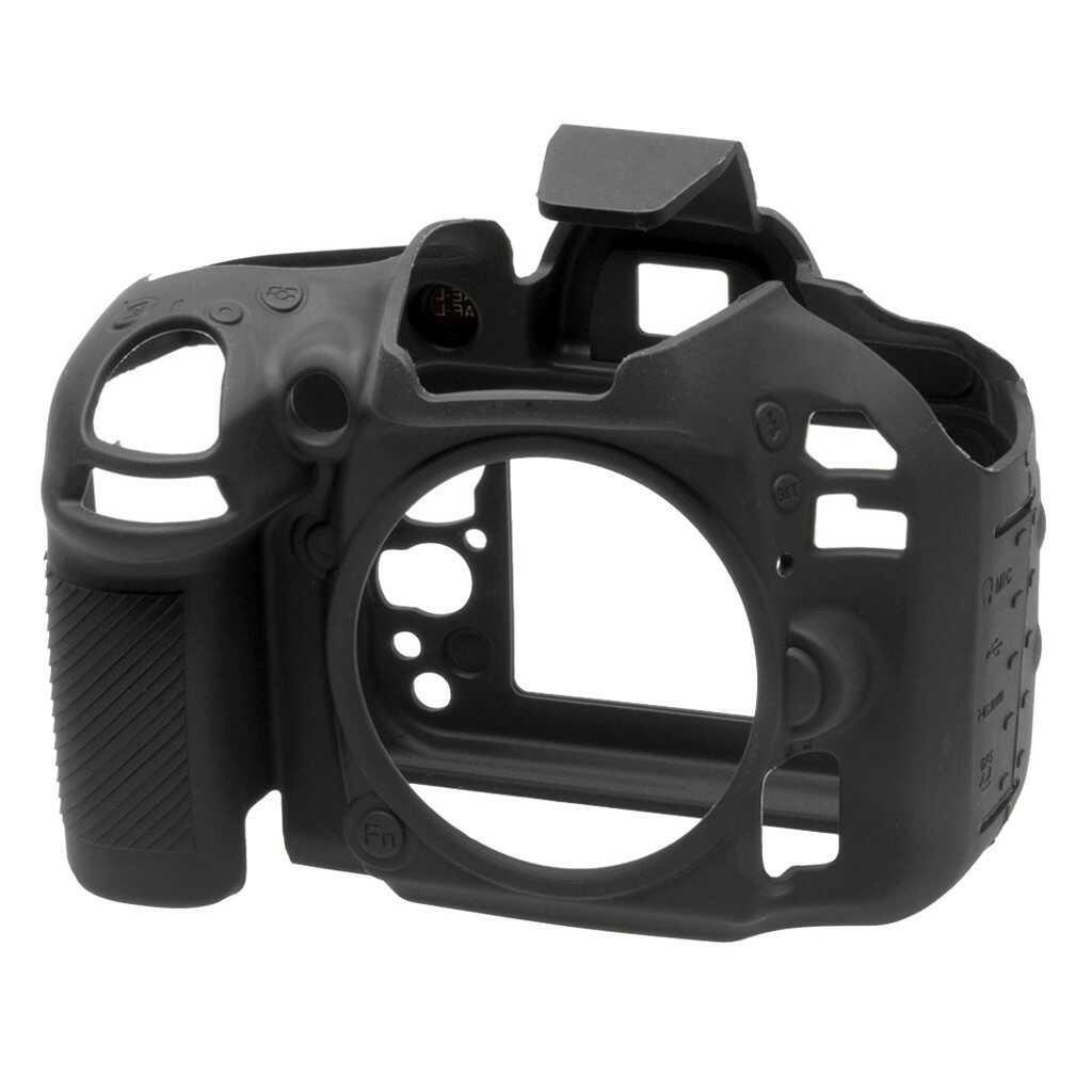 Osłona silikonowa easyCover do aparatu Nikon D600/ D610 czarna
