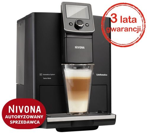 Ekspres do kawy NIVONA CafeRomatica 820 - Czarny + Kod rabatowy