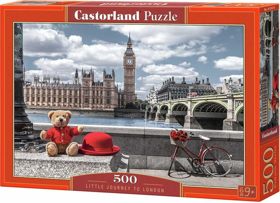 Puzzle Castor 500 - Mała podróż do Londynu, Little Journey to London