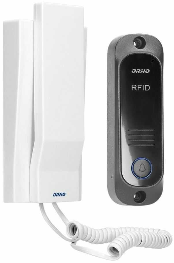 Domofon RFID jednorodzinny AVIOR biały ORNO