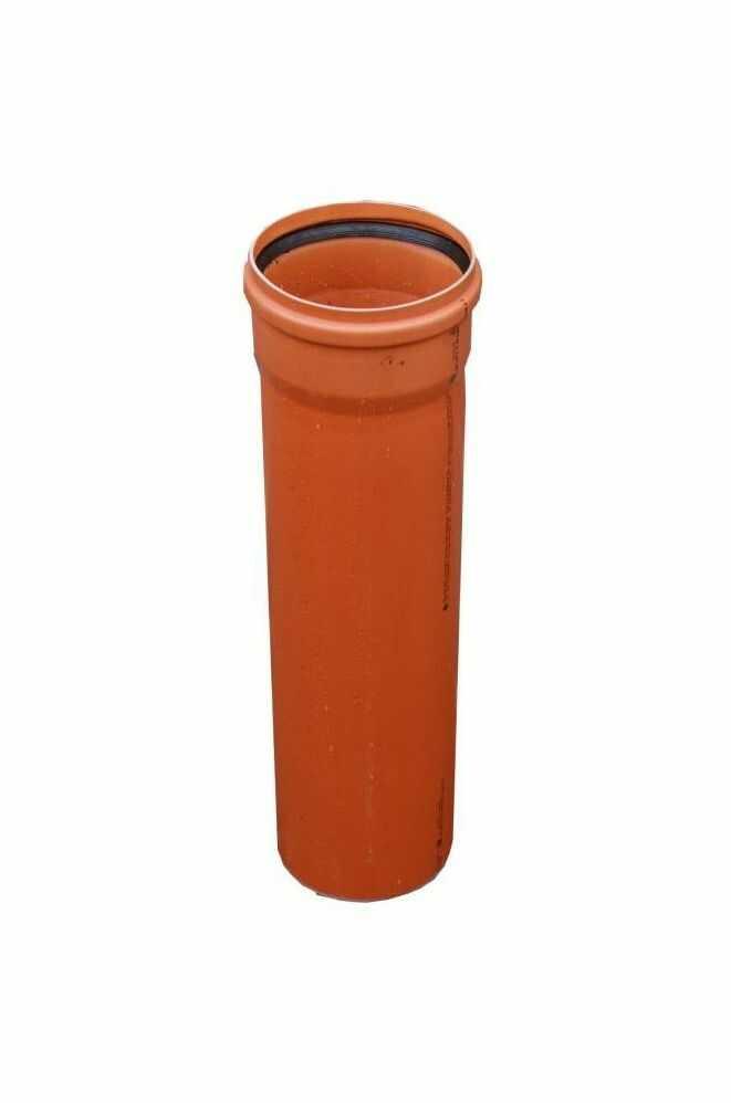 Rura kanalizacyjna zewnętrzna 160 mm/0.5 m DREWPLAST