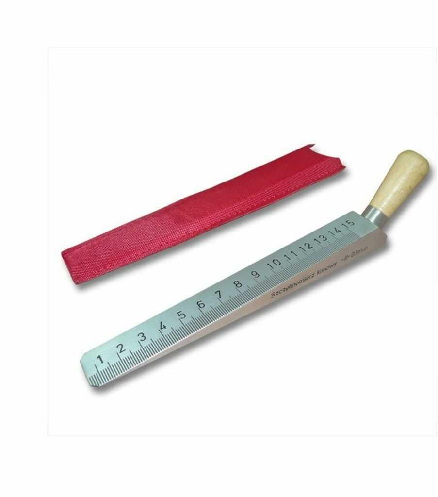 Klin pomiarowy szczelinomierz 15 cm